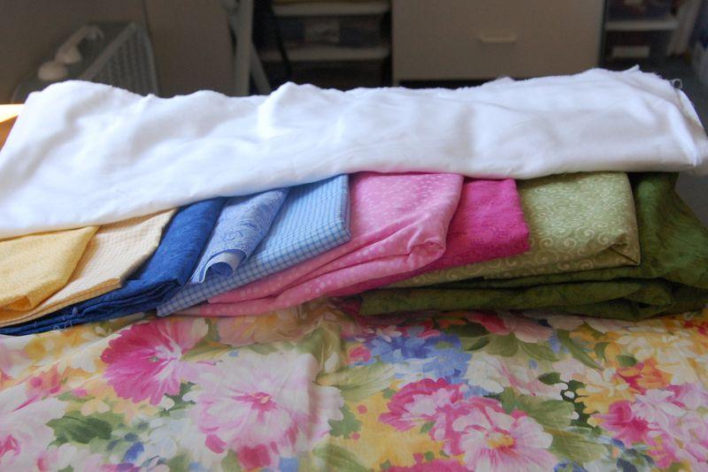 Bluebirds Fabric #2
