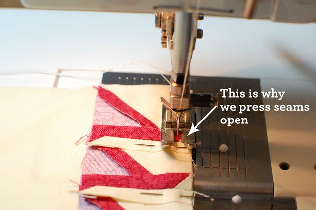 Sew first unit-web