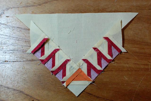 Triangle side unit back-web