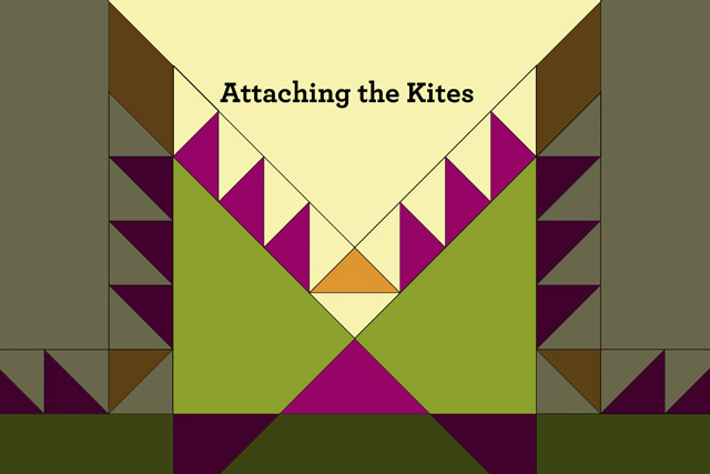 Attaching kites