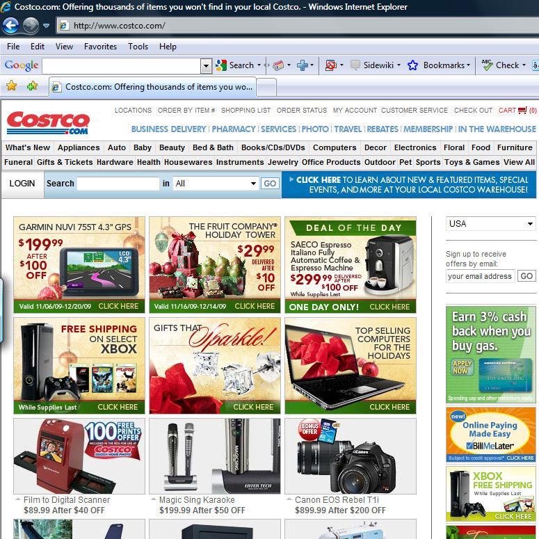 Funny Costco Info