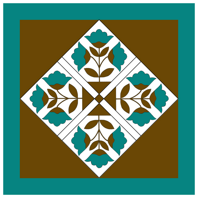 Colorado Lily Quilt-web