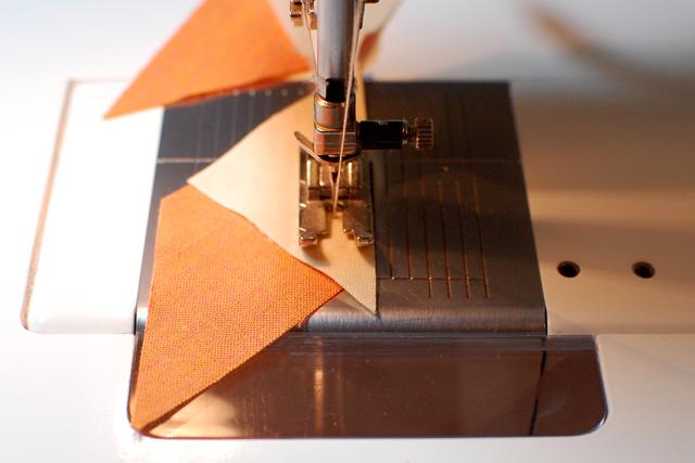Sewing diamond unit