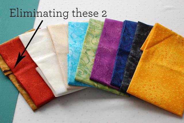Challenge 2 fabric