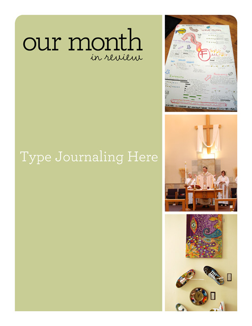 April Journal web