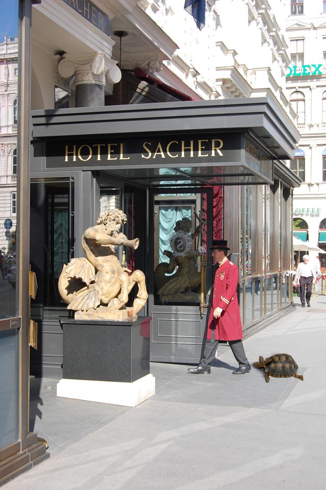 Walter at hotel