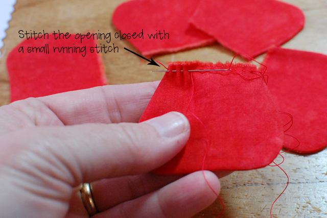 Step 9-gather stitch