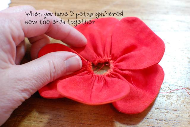 Step 12-all petals