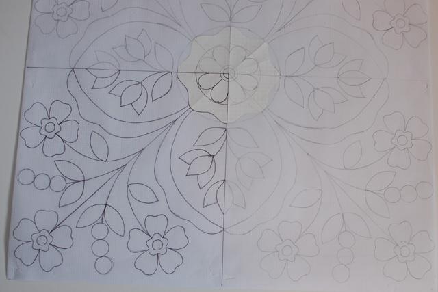 Center flower 1