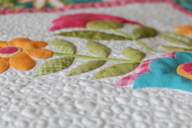 Poofy quilting 1