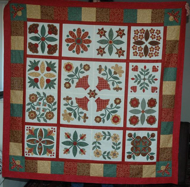 Anita's quilt-web