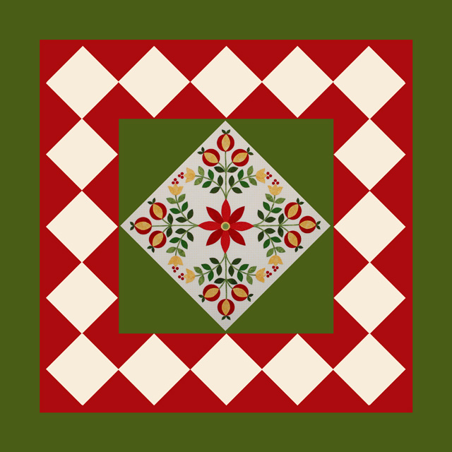 Jingle Quilt-web