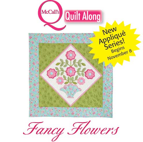 Fancy Flowers Quilt Along