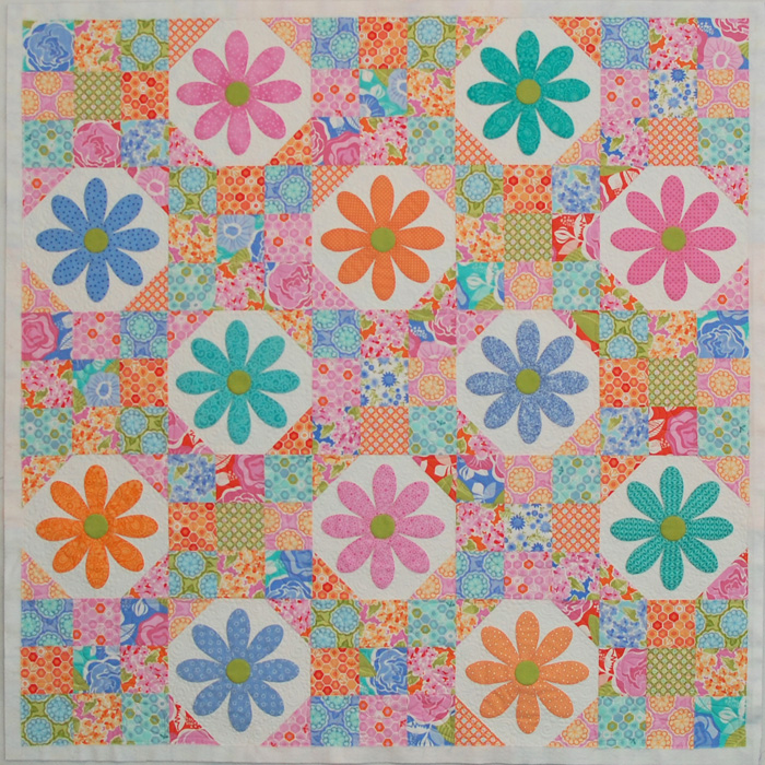 I'm ready for my binding... - One Piece at a Time : daisy quilts - Adamdwight.com