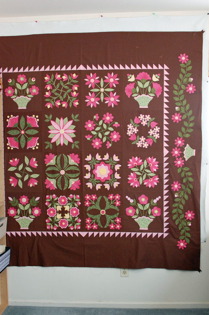 Chocolate Bonbon Quilt