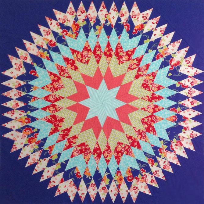 Bursting Star-web