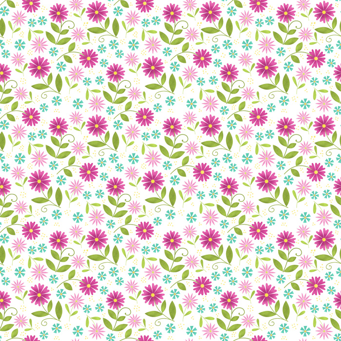 Floral Pattern repeat-web