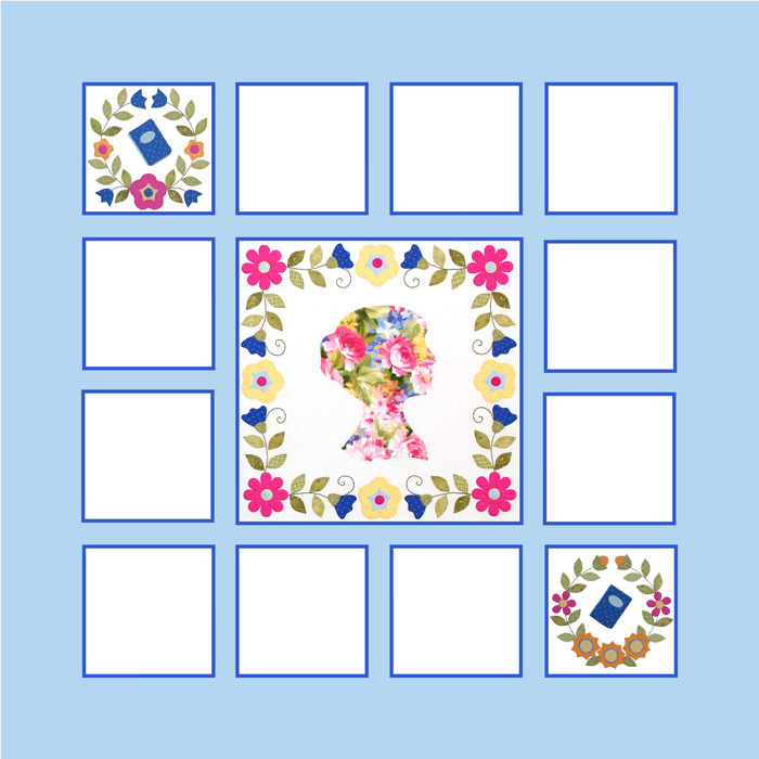 Miss Jane Quilt Block 2