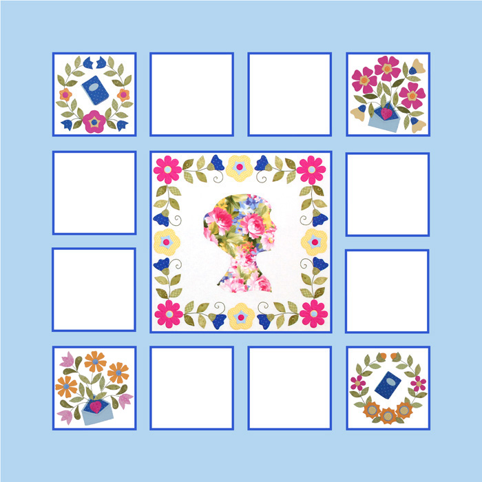 Miss Jane Quilt Block 4