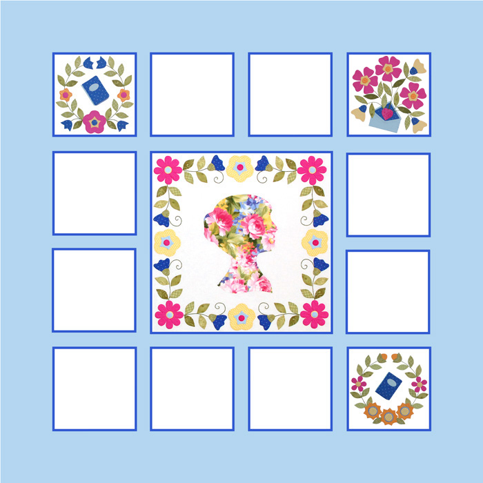 Miss Jane Quilt Block 3